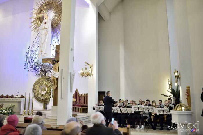 Msza św i koncert orkiestry dętej Gwiazda Morza 19 II 2017