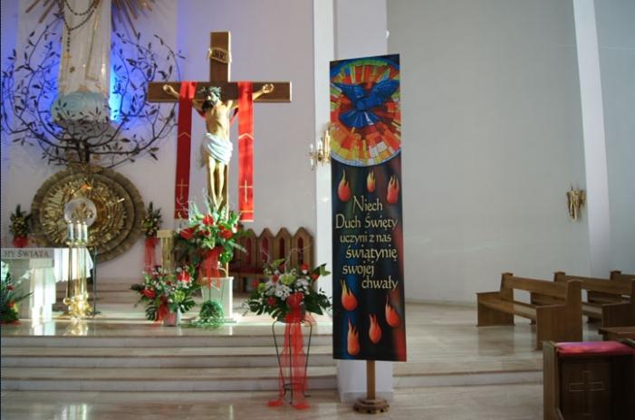 Uroczysta Msza św. wizytacyjna z udzieleniem sakramentu bierzmowania 13 maja 2013